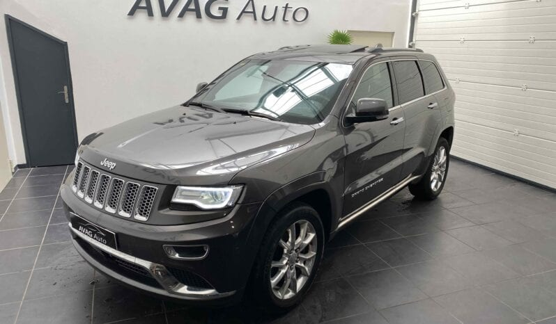 JEEP GRAND CHEROKEE 3.0 CRD 250 CV SUMMIT complet