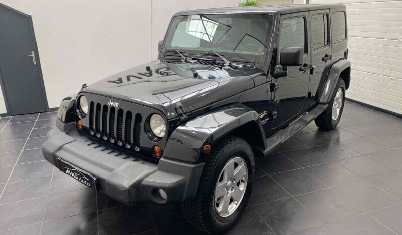 JEEP Wrangler JK 2.8 CRD 4WD 200 cv Sahara complet
